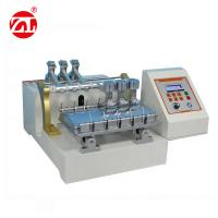 Buy cheap Stain Abrasion Resistant Leather Testing Machine For Clothing / Luggage from wholesalers
