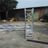 Buy cheap Multi - Shape Safe Aluminum Box Truss , Alloy 6082-T6 Screw Truss Tent System from wholesalers