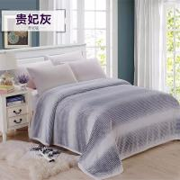 Buy cheap Luxury Solid Color Flannel Bed Blanket , Thick Reversible Flannel Blank Anti - Static from wholesalers