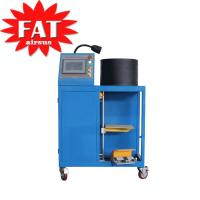 Buy cheap Gas - Filled Hydraulic Hose Crimping Machine With Rubber Steel from wholesalers