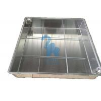 Buy cheap Ground Square Drain Grate Covers Steel Grates For Drainage 600 * 600 * 80mm from wholesalers
