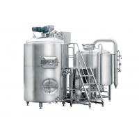 Buy cheap Stainless Stain Pub Brewing Systems 500L Semi-Automatic Control For Bar / Pub from wholesalers
