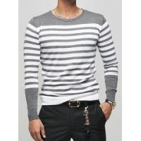 Buy cheap offer girl's apparel processing service, long sleeve stripe t-shirt,men's blouse from wholesalers