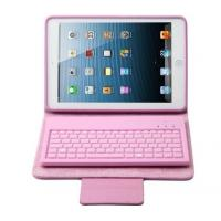Buy cheap Pink Bluetooth Tablet Keyboard Cases For Ipad Mini / Ipad Mini 2 Protective Cover from wholesalers