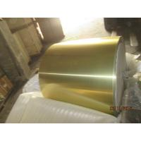 Buy cheap Hydrophobic Color Painted Aluminum Coil 60 - 1250MM Width / 0.18MM Blue Coated Aluminium Coil from wholesalers