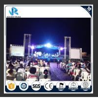 China Aluminum Alloy Sgaier Truss 8 * 6 * 5m Size For Studio Event Stage Lighting on sale