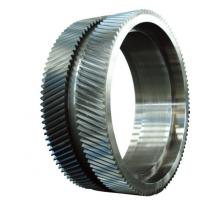 Buy cheap 20CrMnMo 42CrMo Forged Steel Rings / Mchanical Gear Ring Forging For Wind Power product