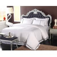Buy cheap 300TC Textile Products Hotel Bed Linen With Comfortable Plain Pure Color from wholesalers