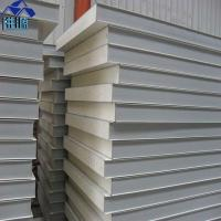 Buy cheap waterproof 75mm grey white polyurethane foam sandwich panel for clean room from wholesalers