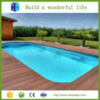 Buy cheap Composite deck floor swimming pool decking wpc tiles flooring products from wholesalers