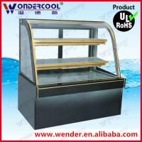 Buy cheap 1.5m Commercial cake display cooler cake display fridge refrigerated cake display cases from wholesalers