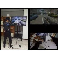 Buy cheap High Immersion Virtual Reality Systems Ultra Realistic For Entertainment / Military product
