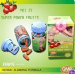 Buy cheap Super Meizi Super Power Fruits Slimming Fruit Fat Loss Pill,Meizitang Orange&Grey Botanical Slimming Capsules from wholesalers