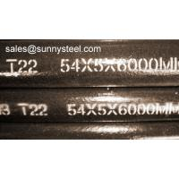 Buy cheap SunnySteel are a manufacturer of ASTM A213 T22 Seamless alloy pipe with high quality from wholesalers