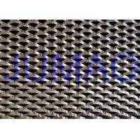 Buy cheap Shopping Hall Stainless Steel Expanded Metal Triangle Holes Security Mesh product