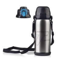 Buy cheap 800ml Double Wall 27 Oz Thermos Vacuum Insulated Bottle product
