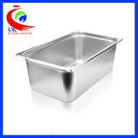 Buy cheap GN Pan Stainless Steel Food Container / Spice Box Set For School from wholesalers