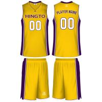 Buy cheap NBA Quality Team Sublimated Customize Your Own Basketball Uniforms for Men from wholesalers