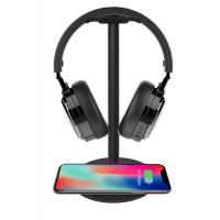 China The world first Excellent dual mic 30db Active noise cancelling headphone with Charging Stand on sale