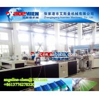 Buy cheap HOT Plastic corrugated wave tile board panel making machine production line product