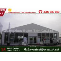 Buy cheap Auto Show Heavy Duty Canvas Tent Outdoor marquee For event Trade Show Booth from wholesalers