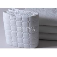 Buy cheap Fitted Design Mattress Topper Protector For 5 Star Hotels with 100% Hollowfiber Filling Material from wholesalers
