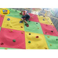 Fiberglass Kids Rock Climbing Wall Outdoor Non - Toxic Ant I- UV