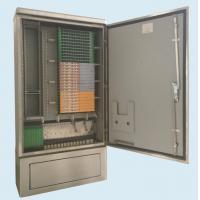 D Type Ip65 Fiber Optic Cross Connect Cabinet 144 Core - 576 Core