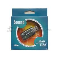 Buy cheap USB 2.0 Full Speed 5.1 Sound Card Apply in Desktop / Notebook Systems from wholesalers
