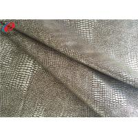 Buy cheap 60 Inch Waterproof Non-Stretchr Micro Suede Polyester Fabric For Sofa / Garment from wholesalers