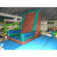 Buy cheap Commercial Inflatable Climbing Toys With Blow up Bouncer For Water park from wholesalers