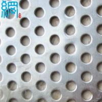 Buy cheap Galvanized perforated metal mesh from wholesalers