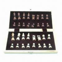 Buy cheap Wooden Chess Board, Measures 30 x 15 x 4.8cm, with Veneer Surface from wholesalers