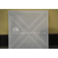 Perforation Vinyl Gypsum Ceiling Tile