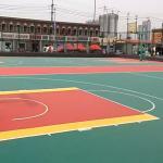 Buy cheap modular interlocking floor tiles interlocking sports mats outdoor futsal court volleyball court from wholesalers