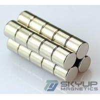 Buy cheap Diameter 8x30mm Long Bar Cylinder Powerful Nickel Coated Neo Magnet from wholesalers