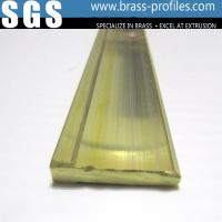 Buy cheap Brass Electrical Equipment Plug Profiles Brass Electronic Components from wholesalers