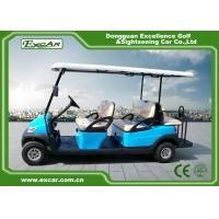 Buy cheap Sky Blue Electric Golf Buggy 6 Person Aluminum 3.7KW ADC Separately Motor from wholesalers