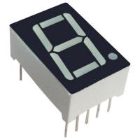 Buy cheap Common Anode 7 Segment Display / 25.4mm Seven Segment Display PCB Mounting from wholesalers