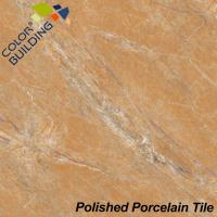 Buy cheap Golden Beige Polished Porcelain Tiles With Marble Stone from wholesalers