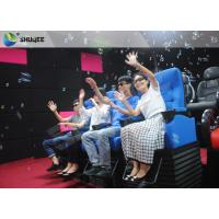 Buy cheap Huge Screen 4D Cinema System Movement Chair Fog Effects 100 Seats product