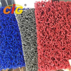 Buy cheap Colored Looping Yarn PVC Floor Covering Carpet Rolls , Door Floor Mats 1.22m X 18m product