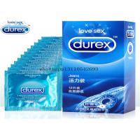 Buy cheap DUREX Adult Condoms Intimate Feel condoms Thin+Extra Lubrication pleasure packs 12 PCS/box from wholesalers