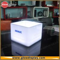 Buy cheap New Design Rectangle Shape Absolut LED Ice Bucket for Brand Advertisment from wholesalers