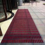 Buy cheap entrance mat/modular mat/interlock mat/carpet tile/tile mat/dust-proof mat/Type I, red and gray from wholesalers