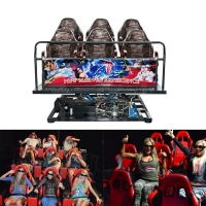 Buy cheap Indoor Amusement Park Electrical 5D 7D Cinemas Motion Chair 3dof 6dof Platform product