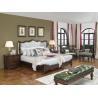 Buy cheap American Western design style Villa Bedroom furniture Fabric Headboard Screen from wholesalers