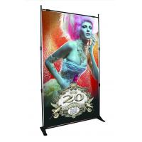 Buy cheap Step Repeat Backdrop Adjustable Banner Stands Display System Telescopic Wall product