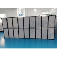 Buy cheap Galvanized Steel Frame HEPA Filter With Aluminum Foil Separator product