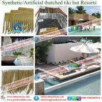 Buy cheap Artificial | Synthetic Palapa Thatch Roofing - Tiki bar Tiki huts from wholesalers